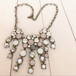 Beautiful sparkle and pastel colored necklace